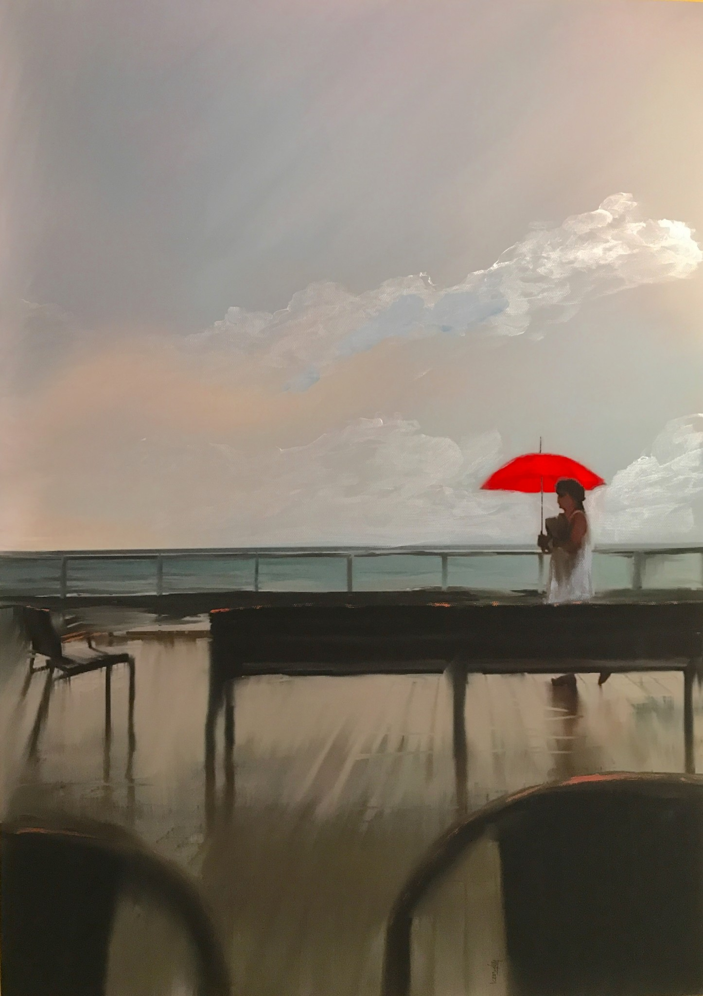 Red Umbrella / Y Ymbarél Coch