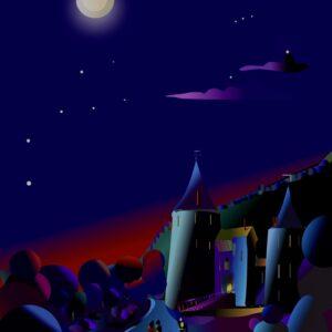 Moonlight & Evening Paintings.